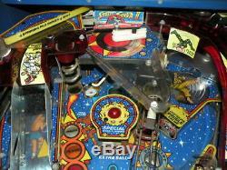 Street Fighter Championship Pinball Machine by Gottileb 90s Stunning Pin Arcade