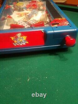 Superman Saving The World Deluxe Edition Extremely Rare Mini Pinball Machine