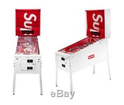 Supreme x Stern Pinball Machine ORDER CONFIRMED WITH PROOF READ DESCRIPTION