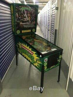 TEENAGE MUTANT NINJA TURTLES Data East 1991 Pinball machine