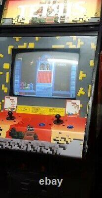 TETRIS ARCADE MACHINE by ATARI 1988 (Great Condition) RARE