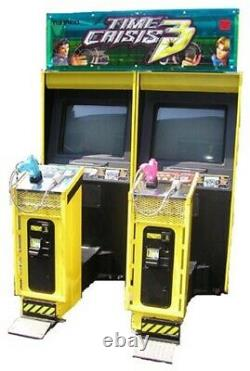 TIME CRISIS 3 ARCADE MACHINE by NAMCO 2 PLAYER (Excellent Condition) RARE