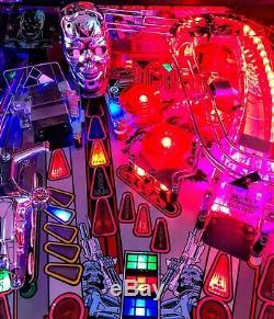 Terminator 2 Williams Pinball Machine Excellent Working Condition