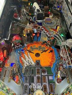 The Addams Family Pinball Machine, Excellent Condition Full Led, Lots Of Mods