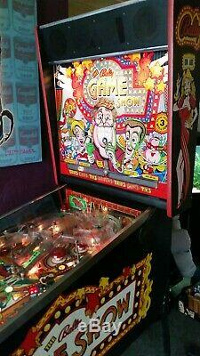 The Bally Game Show 1990 Pinball Arcade Machine Full working order with Sound