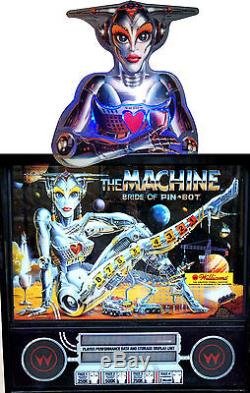 The Machine Bride On Pinbot Jack Bot Pinball Topper