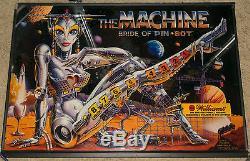 The Machine Bride of Pinbot fullsize pinball machine! (Williams 1990)