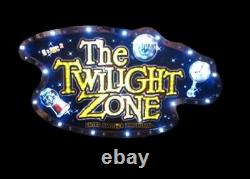 The Twilight Zone Pinball Hologram Topper with IGT slot machine topper hologram