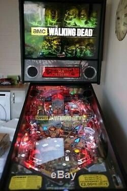The Walking Dead TWD Pinball Premium Edition Rare and Great condition