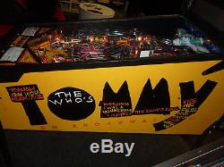 The Who`s Tommy pinball machine