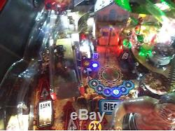 The walking Dead Pro arcade pinball machine, home use only, fully moddded
