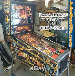 Theatre Of Magic Pinball Machine Stunning Warrantied