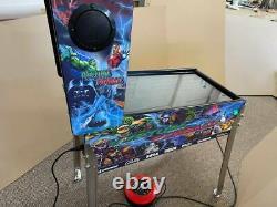 Themed 27 Deluxe Virtual Pinball Machine + Bally Legs + Shooter Virtual Pinball