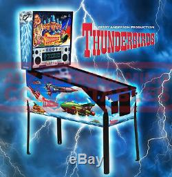 Thunderbirds Pinball Machine Arcade Pin Ball