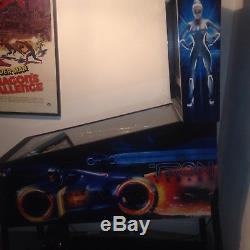 Tron legacy pinball machine arcade machine with upgrades. Stern pinball