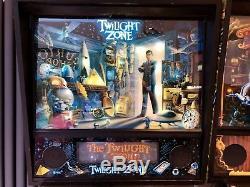 Twilight Zone Pinball Machine Full LEDs
