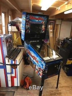 Ultra-Pin Digital Pinball Machine Needs Attention