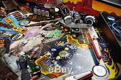 VERY RARE SEGA (Stern) 1999 Harley Davidson Arcade Game Pinball Machine