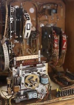 VERY RARE WILLIAMS 1963 MAJOR LEAGUE pinball machine Refurbished. Fully working
