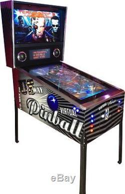 VP-04 Neu Virtueller Pinball Flipper Spielautomat Arcade Machine Flipperautomat