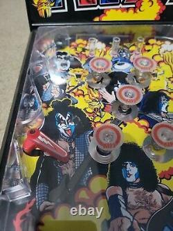 Very Rare KISS (The Rock Band) Electronic Mini Pinball Machine