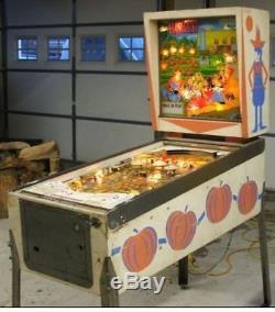 Vintage 1964 Bally Harvest Pinball machine/ pin table