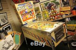 Vintage 1964 Gottlieb Bowling Queen Pinball Machine Americana Memorabilia