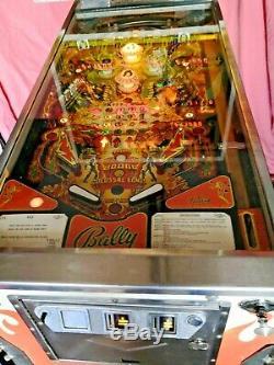 Vintage Bally KISS Pinball machine (1979)