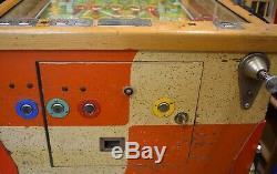 Vintage Bally Touchdown Pinball Bingo Machine