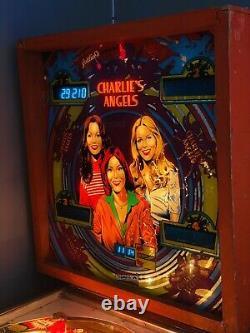 Vintage Charlies Angels Pinball Machine