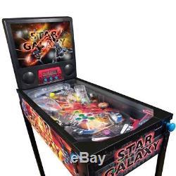 Vintage Home Pinball Machine Arcade Game Star Galaxy Indoor Gift Kids Toy