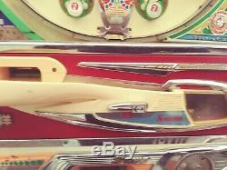 Vintage Japan Sanyo Pachinko Pinball Machine No Glass PARTS/REPAIR Untested LPU