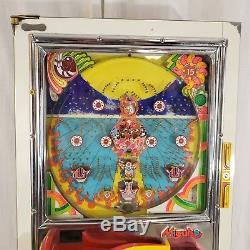 Vintage Mizuho Pachinko Pinball Machine Game Complete
