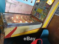 Vintage Pinball Bingo Machine