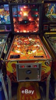 Volcano pinball machine