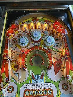 WIlliams Spanish Eyes vintage retro 70's EM pinball machine fully working