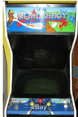 WONDER BOY ARCADE MACHINE by SEGA 1986 (Excellent Condition) RARE