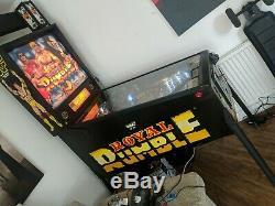 WWF Royal Rumble Pinball Machine (1995 classic)