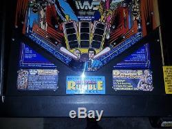 WWF Royal Rumble Pinball Machine Data East