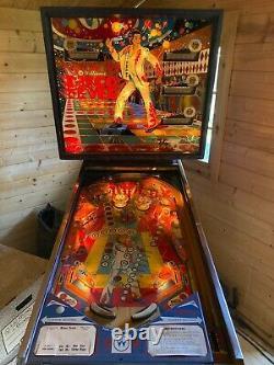 Williams 1978 Disco Fever RARE vintage pinball machine Saturday Night Fever LOOK