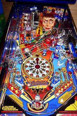 Williams 1990 FUNHOUSE Arcade Pinball Machine EXCELLENT CONDITION & PINSOUND