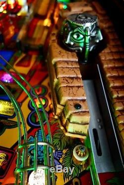 Williams 1993 Indiana Jones Arcade Pinball Machine LEDS