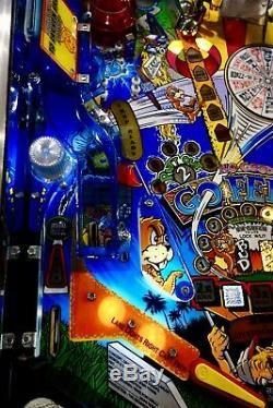 Williams 1997 NO GOOD GOFERS Arcade Pinball Machine Colour DMD Great Condition