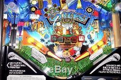Williams 1997 NO GOOD GOFERS Arcade Pinball Machine Excellent Condition LEDS
