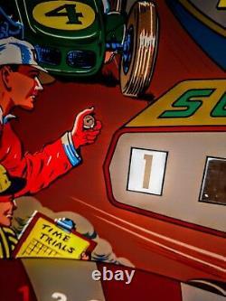 Williams BEAT THE CLOCK Pinball Machine Replacement BACKGLASS