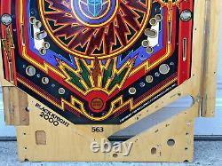 Williams Black Knight 2000 Pinball Machine Game Lower Playfield BK2K