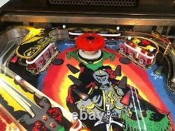 Williams Black Knight pinball machine, full restoration, new playfield