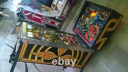 Williams Blackout Pinball Machine Great Condition Upgrades Fully Serviced