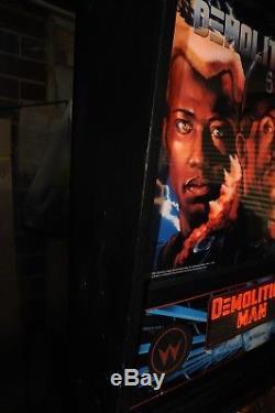 Williams Demolition Man Pinball Machine 100% Working