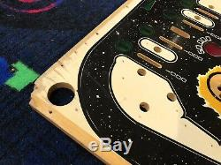 Williams Firepower Pinball Machine NOS Playfield. Art / Wall Hanger. Very Rare